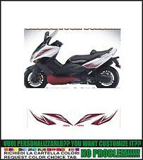 kit adesivi stickers compatibili tmax 2008 2011 exchaust