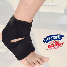 Adjustable Sports Ankle Brace Support Compression Stabilizer Elastic Foot Wrap