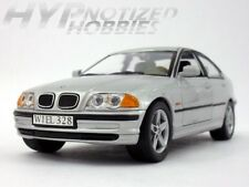 WELLY 1:24 1998 BMW 328I DIE-CAST SLIVER 9395-4D N/B