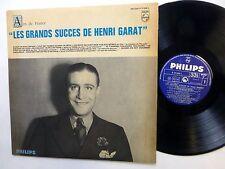HENRI GARAT Les Succes De LP Philips 77036 France POP Chanson    #674