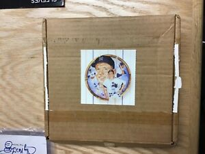 The Hamilton Collection Mickey Mantle New York Yankees Plate New In Box