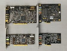 Sound Blaster Blowout - LOT of 4 mixed Creative Labs Cards - Audigy X-Fi