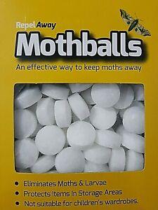 60 x Moth Balls MOTHBALLS (Clothes, Kills Moths, Larvae and Eggs) low price