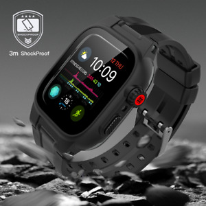 Waterproof Shockproof Case with Band For Apple Watch Series 1 2 3 4 5 6 42/44mm