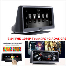 "7.84""FHD 1080P Touch IPS 4G ADAS GPS Car DVR Vehicle Dashboard Recorder WIFI FM"