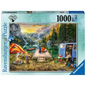 Ravensburger Wanderlust Calm Campsite 1000 Piece Jigsaw Puzzle