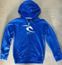 Boys Rip Curl  Sz 12 Hoodie Blue Hooded Sweatshirt