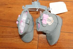 NWT GIRLS DISNEY SZ 0-6 MONTHS BOOTS MINNIE MOUSE