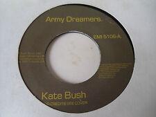 "KATE BUSH - ARMY DREAMERS  7""  80  VG+"