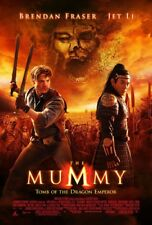 MUMMY 3 TOMB OF THE DRAGON EMPEROR MOVIE POSTER 2 Sided ORIGINAL FINAL 27x40
