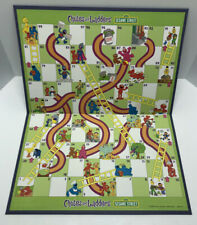 Chutes and Ladders Sesame Street Replacement Board Hasbro 2004 BOARD ONLY