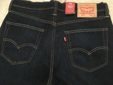 Brand new with tags Mens Levi 511 Jeans 34Lx34W blue denim
