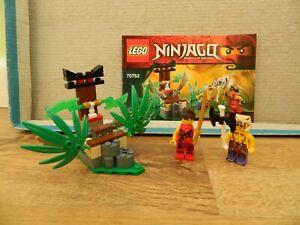 Lego NinJago – 70752 Jungle Trap – Complete - Instructions – Retired Set - 2015