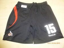 1.FC Köln Original Reebok Spieler Matchworn Trikot Hose/Short + Nr.15 Gr.M