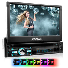 AUTORADIO MIT BLUETOOTH TOUCHSCREEN BILDSCHIRM USB SD MP3 DVD/CD-PLAYER AUX1DIN