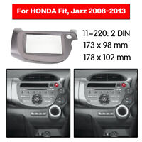 2 Din Fascia Adaptor Car Radio fascia for HONDA Fit Jazz 2008-2013 Right Wheel