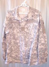 US Army Combat Uniform ACU Digital Camouflage Camo Shirt Coat Jacket Med Reg