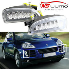 For Porsche Cayenne 08~10 LED DRL Daytime Running Lights Bumper Turn Signal Lamp