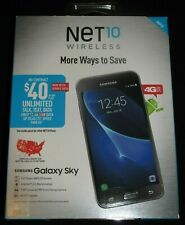 Brand New Sealed  in Box  Net10 Samsung Galaxy Sky 16 GB Smartphone
