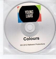 (DQ281) Young Liars, Colours - 2012 DJ CD