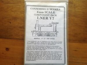 Connoisseur Models LNER Y7 0-4-0T Loco Etched Brass Finescale 00 Kit
