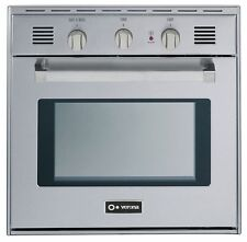 """Verona VEBIG24NSS 24"""" Single Gas Wall Oven Built In Stainless Steel"""