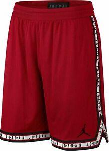 NWT Jordan 12 Retro Basketball Gym Red/Black Men's Shorts AQ2376-687 XXL