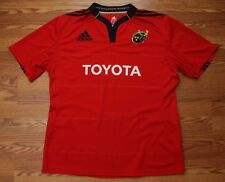 EUC Munster Rugby Ireland Adidas Climacool Mens Jersey Toyota Size 2XL