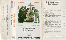 "THE JACKSONS ""GOIN' PLACES"" ULTRA RARE SPANISH CASSETTE / MICHAEL JACKSON"