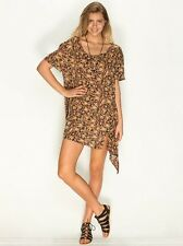 NEW VOLCOM FRISKY BUSINESS TUNIC DRESS SIZE XSMALL/SMALL code 25-18 RP $45