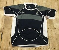 Scotland Rugby Jersey Small RARE Nations Embroidered Lettering Logo Flag Shirt