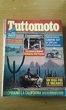 TUTTOMOTO #  2 - FEBBRAIO 1982 - YAMAHA 650 TURBO - CAGIVA SST - ENDURO