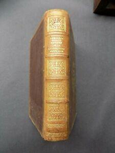 HISTOIRE DE LA LITTERATURE FRANCAISE J. Demogeot  1857 Relié pleine basane