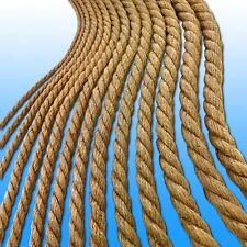 10 m Juteseil Ø 6-32 mm Tauwerk Gartenseil Schnur Leine Trosse Dekoration