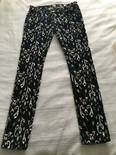 Rag & Bone The Cord Skinny Jeans in Ikat Print Sz 28 Excellent condition
