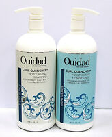Ouidad Curl Quencher Moisturizing Shampoo & Conditioner Liter Set Duo 33.8 oz