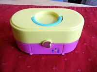 CABOODLES WEDDING PLAY SET 1993 WITH BRIDE & GROOM SOME ACCESSORIES TOY BIZ
