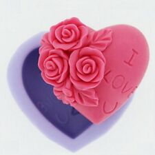 Herz I Love You - Silikonform Fondant Torten Kuchen Backform