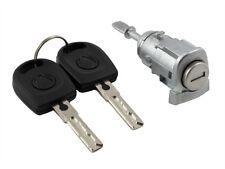 VW Golf 4 Mk4 VW Bora 1997-06 New Front Right Driver Door Lock Barrel & 2 Keys