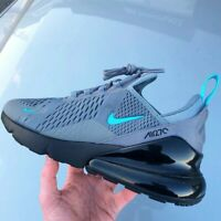 CD1506-001 Nike Air Max 270 Mens Size 6-14 Trainers Grey-Black-Sky Blue Sneakers