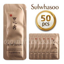 [Sulwhasoo] Concentrated Ginseng Renewing Eye Cream 1ml× 50pcs Korea Cosmetics