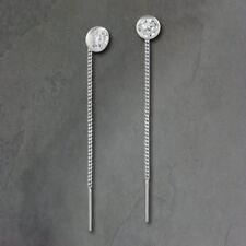 Ohrhänger Durchzieher Zirkonia weiß 4mm SilberDream 925 Silber SDO5964W