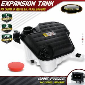 Coolant Expansion Tank With Sensor for Jaguar XF X250 2010-2015 2.0L 3.0L 5.0L