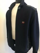 Paul and Shark Men's Reversible Sweater/ Jacket /Vest Navy XLarge Made Italy