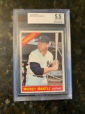 1966 Topps Baseball #50 MICKEY MANTLE.......BVG 5.5