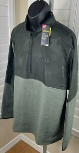 Under Armour ColdGear Infrared 1/2 Zip Fleece Pullover Jacket 1345315, Men's 3XL