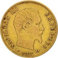 [#480456] France, Napoléon III, 5 Francs, 1859, Paris, VF(30-35), Gold