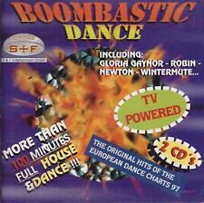 2 CDs Boombastic Dance (More than 100 Minutes Full House & Dance)
