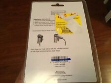 Taymor Brushed Nickle Stainless Steel Wall Hair Dryer Holder damaged packaging