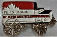 CALGARY STAMPEDE 1990 CHUCKWAGON KELLY SUTHERLAND the PETRO CANADA Pin
